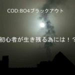 [COD:BO4]ブラックアウトの攻略~初心者が生き残る為には~