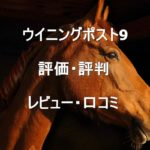 ウイニングポスト9の評価・評判・レビュー・口コミまとめ!